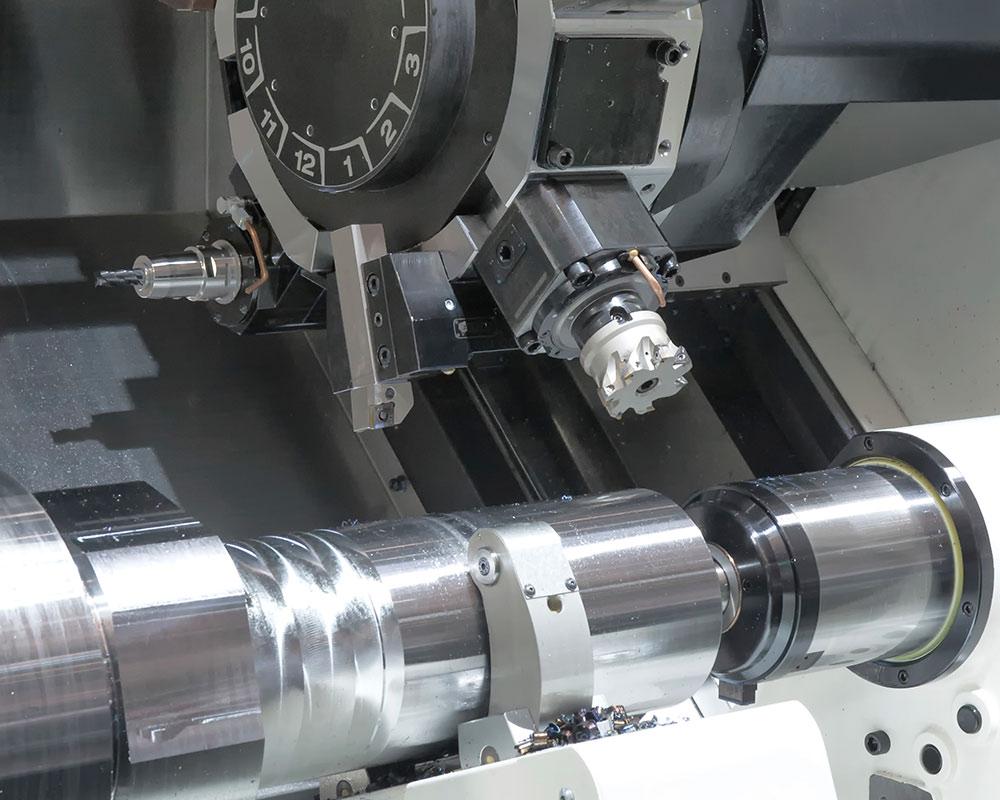 horizontal turning center tailstock