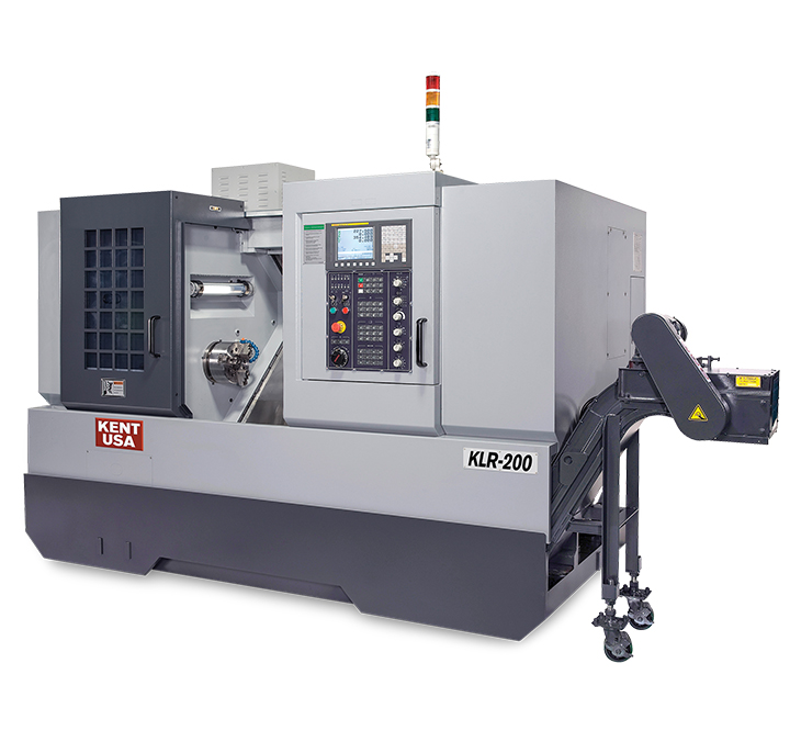 Kent-CNC-KLR-200-CNC-Horizontal-Turning-Center