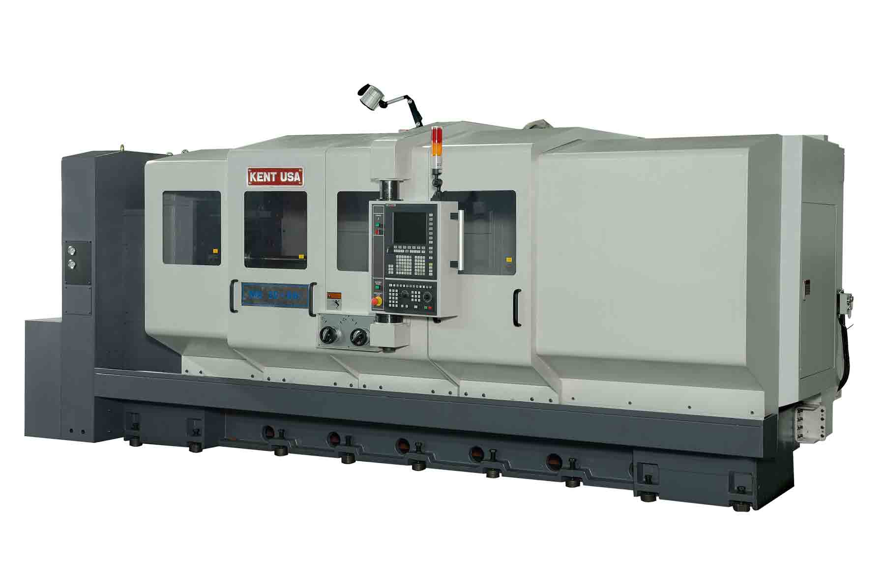 Kent-CNC-MA-Series Double Turret CNC Turning Center