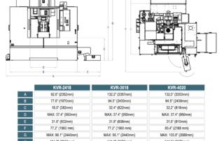 Kent-CNC-3-Axis-Vertical-Machining-Center-Dimensions