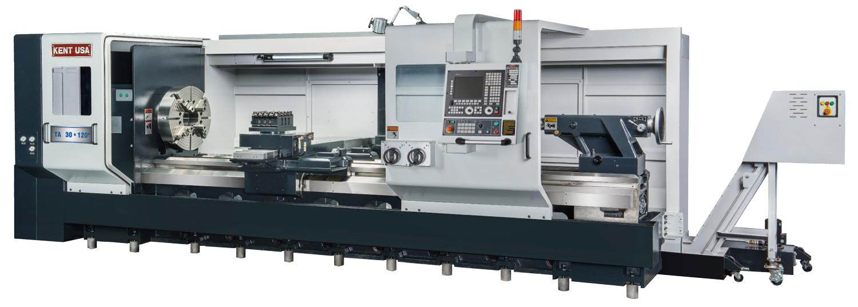 Kent-CNC-TA-Series-Large-Bore-Lathes