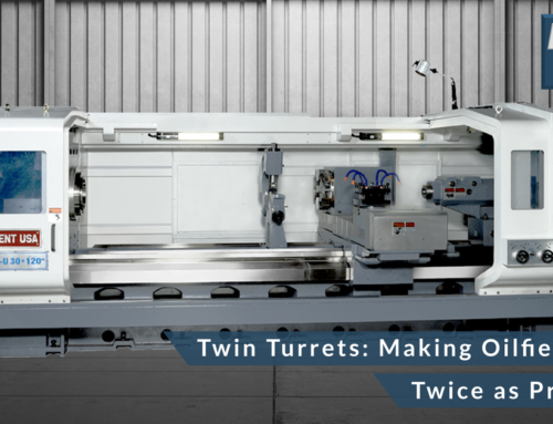 Twin Turrets: Making Oilfield Lathes Twice as Productive