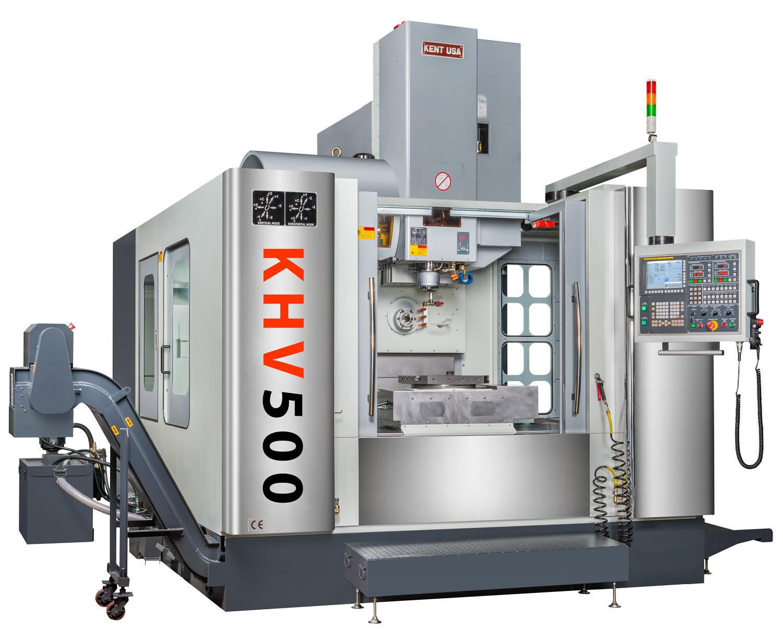 Kent-CNC-KHV-500-5-face-horizontal-vertical-machining-center